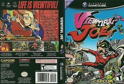 Nintendo GameCube replacement game case and Cover Viewtiful Joe