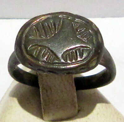 Beautiful Luxurious Large Bronze Crusader Ring # 113