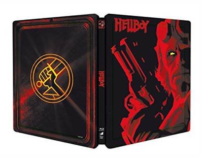 Hellboy (Steelbook) (UK IMPORT) BLU-RAY NEW