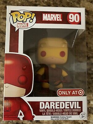 Marvel Dare Devil #90 Target Exclusive Yellow Funko POP! Vinyl Figure