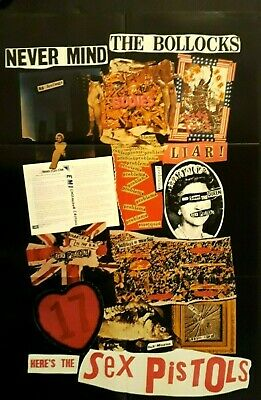 Sex pistols posters NMTB promo, Screen on Green 76, Generation X live 1978 all 3