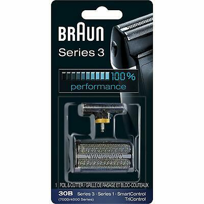 Genuine Braun 30B Electric Shaver Replacement Foil - Black, for 7000/4000 Series