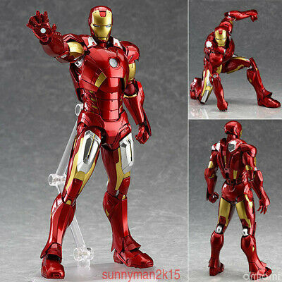 Marvel The Avengers Iron Man Max Factory Figma 217 PVC Figure Statue IN BOX