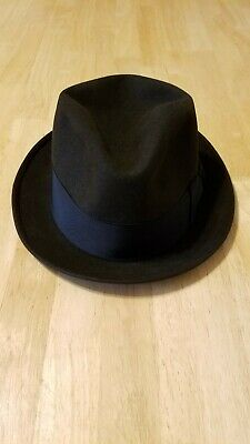 3a78cb2e Vintage Royal Stetson Fedora Hat-Size 7&1/8-Chocolate Brown-Great Shape