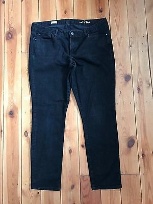 Gap Mens Black 'Always Skinny' Denim Jeans W34 L30