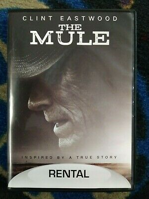 Mule, the (DVD,2018) Clint Eastwood - rental exclusive version