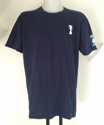 Rhino RBS 6 Nations Trophy T-Shirt Navy Size Adults 2XL Brand New with Tags