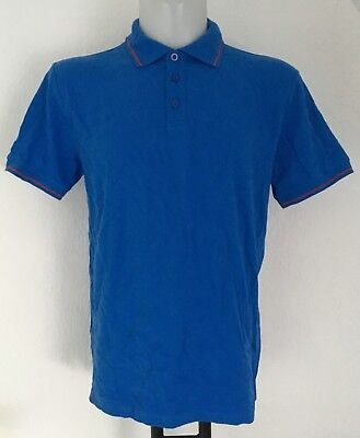 Manchester United Blue Polo Heritage Collection Men's XL Brand New With Tags