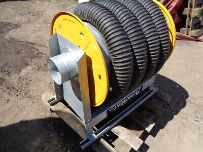 NEW UNUSED - EXTRACTION REEL - PLYMOVENT - 4 inch / 100 mm - 8-2 METERS  LONG