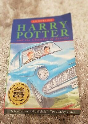 Harry Potter and The Chamber Of Secrets 1st Edition 1st Printing Paperback