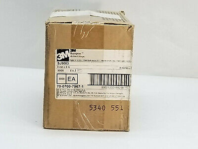 BOX OF (3000) 3M Bumpon Molded Shape Protective Products SJ5003