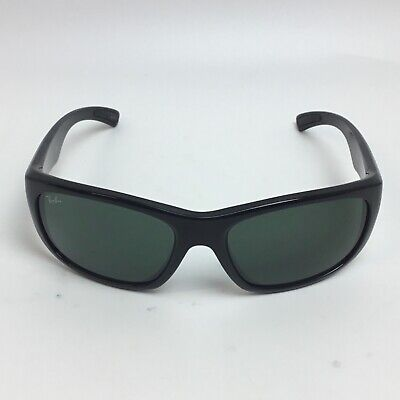 a5ea6b2577 Ray Ban sunglasses Polarized Shiny Black RB4177 63mm Made In Italy 100% Auth   03