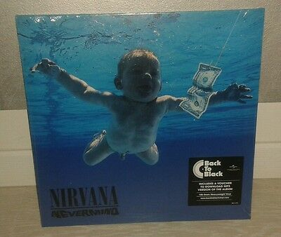 Lp Nirvana - Nevermind (2015) 180gr Sealed