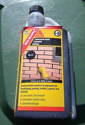 SIKA MAXMIX COLOUR - Concentrated cement colorant for mortars, black
