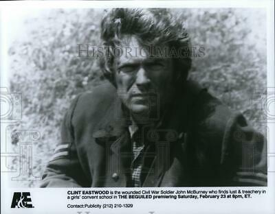 1991 Press Photo Clint Eastwood in The Beguiled - cvp64888
