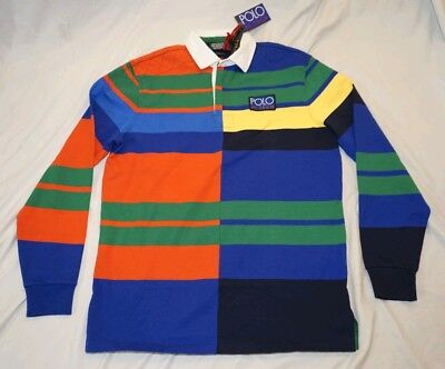 0a22c3e8f POLO RALPH LAUREN Stadium Collection 1992 Mashup P Wing Rugby Polo ...