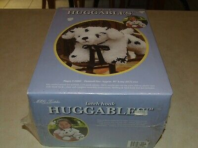 Huggables Latch Hook Kit - Puppy - New