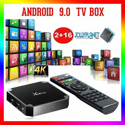 X96 Mini Android Box 7.1 Nougat Quad-Core S905W 2GB 16GB 4K Smart TV WiFi