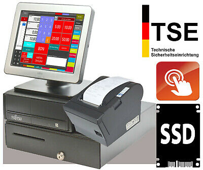 Cash Register System Pos till with Touch TFT Monitor Epson Bonprinter Tm-H6000