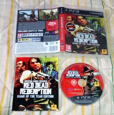 Red Dead Redemption Game of the Year Edition ps3 pal España spa esp goty