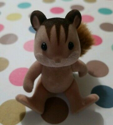 Sylvanian Families Calico Critters Hazelnut Chipmunk Family Adult Mother Father