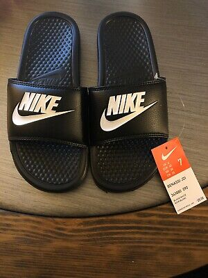 383461e7319f 🔥🔥🔥NEW NIKE MENS Benassi JDI Slippers Slide Sandals 343880 Size 7 ...