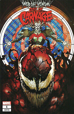 WEB OF VENOM CULT OF CARNAGE #1 Skan Variant Cover Marvel 1st Print New NM