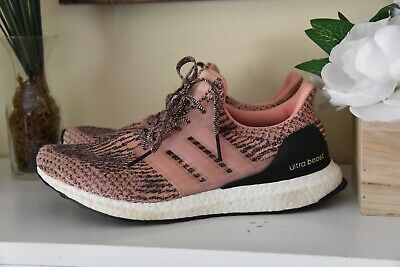 9ba721b6f Womens Adidas Ultra Boost Women 3.0 Salmon Pink Still Breeze S80686 Size 10