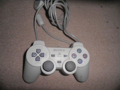 sony playstation official white dualshock controller  - fully tested