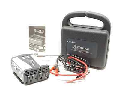 Cobra CPI-475 DC To AC Power Inverter In Hard Case VERY NICE! WORKING!