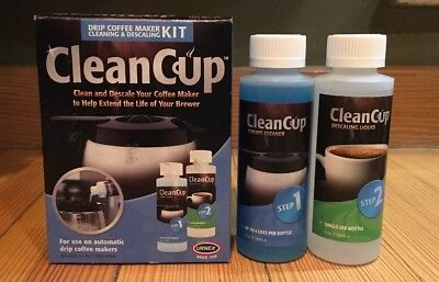 Urnex Clean Cup Drip Coffee Maker & Carafe Cleaning & Descaling Kit FreeShip