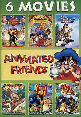 Animated Friends 6-Movie Collection Dom DeLuise, David Carradine, Wanda Sykes,