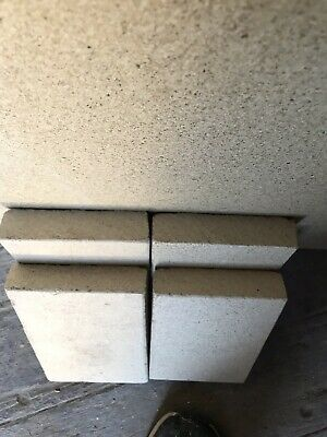 8 pieces of Heat Resistant Vermiculite Fire Bricks for a Dovre Stove 178mm x 114