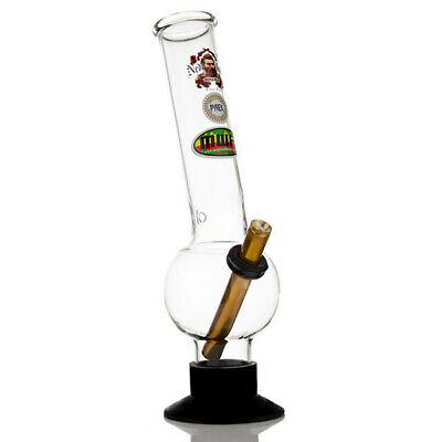 Large Pyrex Glass Bong 31cm Ned Kelly Hurricane Smoking Water Pipe Tobacco