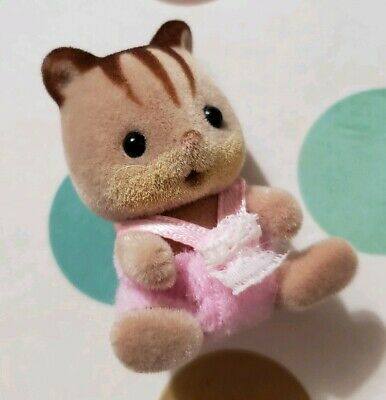 Sylvanian Families Calico Critters Hazelnut Chipmunk Family Twins Baby Sitting