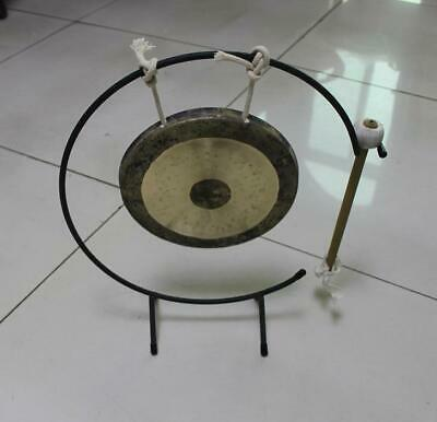"""8"""" chau gong and beautiful gong stand"""