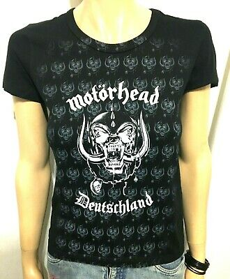 Motorhead - Alemania - Oficial Camiseta Mujer (S) Nuevo Og Early 2000`S 57d