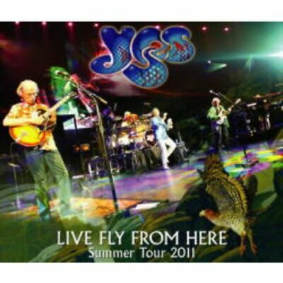 NEW YES LIVE FLY FROM HERE: SUMMER TOUR 2011 5CDR(WHITE LABEL)+1DVDR #Ke