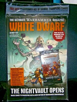 White Dwarf Magazine October Issue (new) 2018