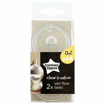 Tommee Tippee Closer To Nature 2 Variflo Easivent Teats