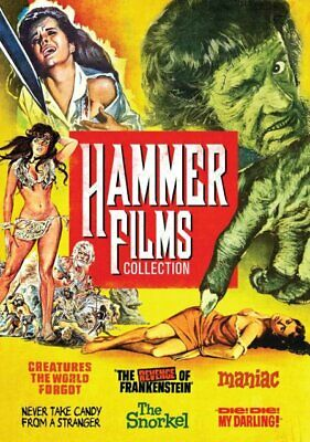 Hammer Horror Films Collection: Volume 2 | 6 Movies | Peter Cushing | New | DVD
