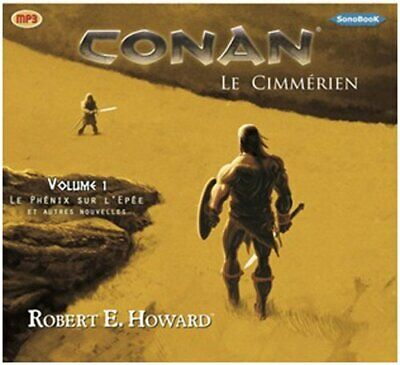 Conan le Cimmerien vol 1 (livre audio) Robert E. HOWARD SonoBooK Francais CD