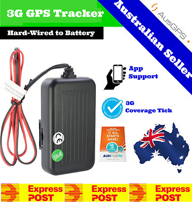 3G GPS Tracker Hard Wired | Live Real-time Car Tracker | 24/7 Support | No Fees