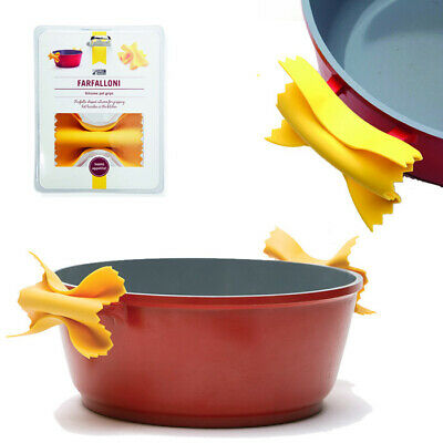 Farfalloni Silicone Pot Holders Pasta Shaped Saucepan Grippers Kitchen Accessory