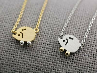 Darling Hedgehog Necklace - Available in Multiple Colors