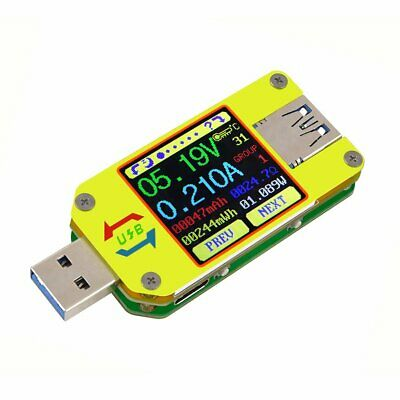 RD UM34 for APP USB 3.0 LCD Display Voltmeter Ammeter Cable Resistance Tester LC