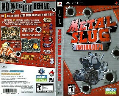 Sony PSP Replacement Game Case - Box and Cover Metal Slug Anthology