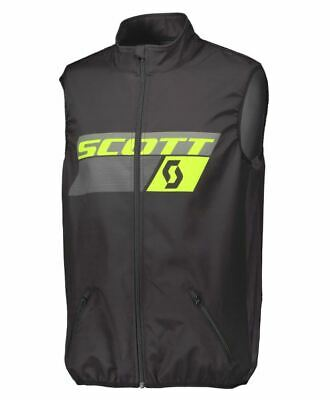 Scott Enduro Vest Gillet Body Warmer Black Motocross Trails Off Road Large