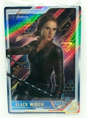 Marvel Avengers END GAME Wafer Card Vol.1 No.03 Black Widow