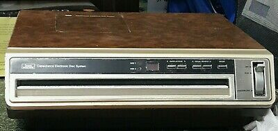 Sears Solid State Capacitance Electronic Disc System -  PLUS 48 Movie Bundle